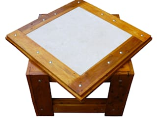 Riccardo Pagnanelli Living roomSide tables & trays Parket