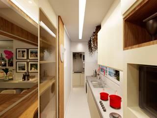 Cozinha Gourmet Adriana Baccari Projetos de Interiores Cozinhas pequenas