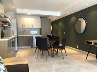 604 Canal Quays CKW Lifestyle Associates PTY Ltd Modern dining room