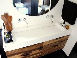 Łazienka z dwustanowiskową umywalką Luxum ŁazienkaUmywalki Biały