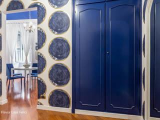 Flavia Case Felici モダンスタイルの 玄関&廊下&階段