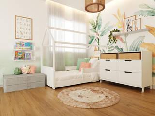 Lilibee 嬰兒/兒童房裝飾品 Wood effect
