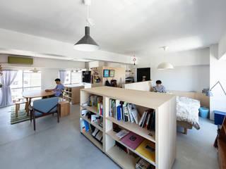 HAMADA DESIGN Modern living room