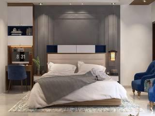 Lakkad Works Dormitorios de estilo moderno
