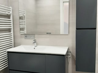 INFOGRAFIAS VS REALIDAD Cimbra47 Baños de estilo moderno