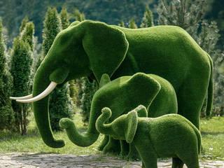 Topiary - Formschöne Figuren mit robustem Grün Werner Klopfleisch OHG GartenAccessoires und Dekoration Grün