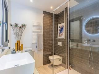 Michele Mantovani Studio Salle de bain moderne Céramique Multicolore