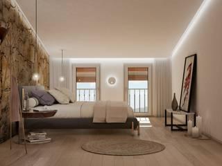 Michele Mantovani Studio Camera da letto piccola Pietra Variopinto