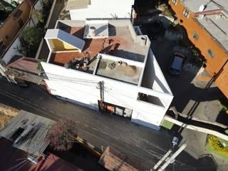 Casa Wright Bautista Variable Casas unifamiliares Concreto Blanco