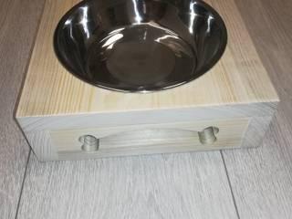COSE FATTE DA NOI CocinaAlmacenamiento y despensa Madera Acabado en madera