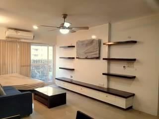 Shape Interiors Salones de estilo moderno