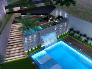 Proyecto LG Diaf design Piscinas de jardín