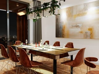 Вира-АртСтрой Cocinas de estilo minimalista