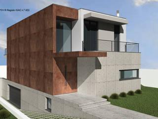 ATELIER OPEN ® - Arquitetura e Engenharia Fincas Hierro/Acero Gris