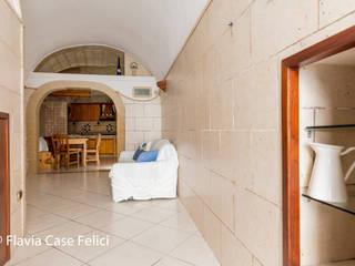 Flavia Case Felici Ruang Keluarga Gaya Rustic