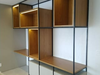 Marcenaria Good Work Office spaces & stores Kayu Wood effect
