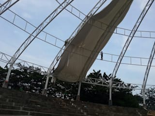 Fortuna Jaya Kreasi Complesso d'uffici moderni PVC Bianco