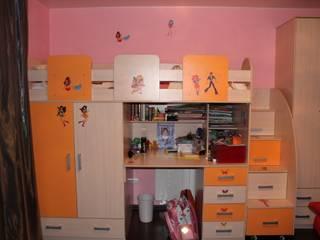 Bragin Interior Kamar tidur anak perempuan MDF Multicolored