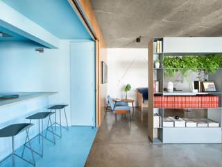 RAWI Arquitetura + Design Bangunan Kantor Modern