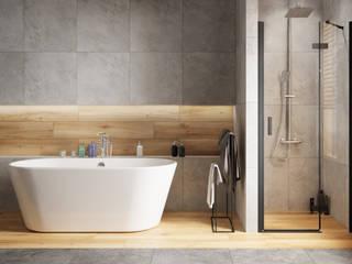 Domni.pl - Portal & Sklep Modern Bathroom Ceramic Grey