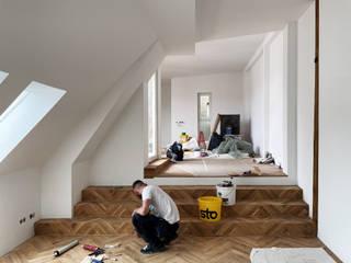 Atelier Blank Soggiorno minimalista
