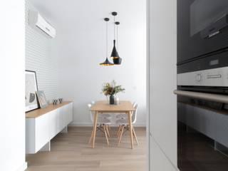 acertus Sala da pranzo moderna Bianco