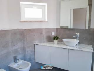 Zhome - Construções e Remodelações, Lda. Kamar Mandi Minimalis Ubin