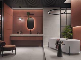 Domni.pl - Portal & Sklep Classic style bathroom Ceramic Red