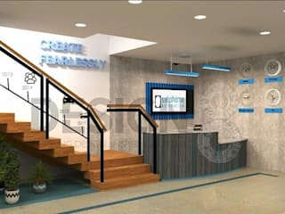 Design 8 現代風玄關、走廊與階梯