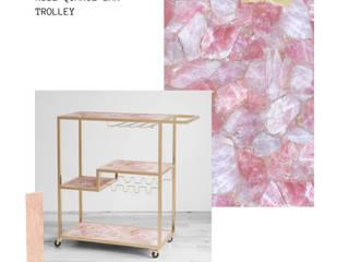 Stonesmiths - Redefining Stoneage Salle multimédiaMeubles Quartz Rose