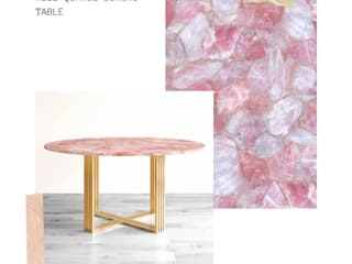 Stonesmiths - Redefining Stoneage Dining roomTables Kuarsa Pink