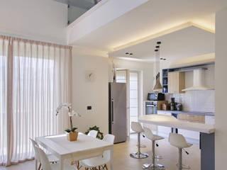 Casa Perla Onice Architetti Sala da pranzo moderna