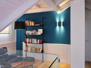 Casa Perla Onice Architetti Studio moderno Blu