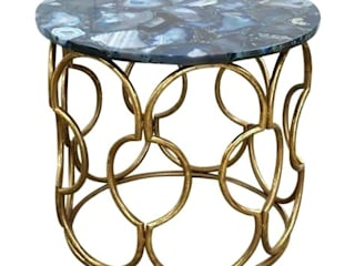 Stonesmiths - Redefining Stoneage Living roomSide tables & trays Stone Blue