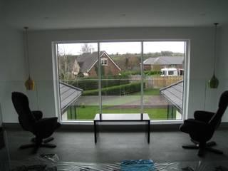 Internal Glass Balustrade Project Bristol Origin Architectural Balkon Kaca Transparent