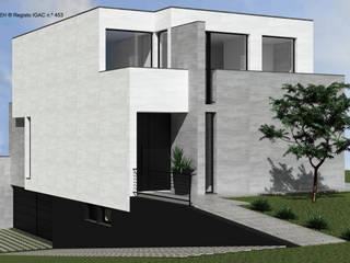 ATELIER OPEN ® - Arquitetura e Engenharia Fincas Concreto reforzado Blanco
