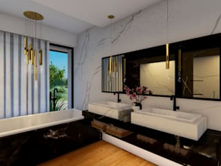 Suite Bathroom Ana Gonçalves, Interior Designer ห้องน้ำ