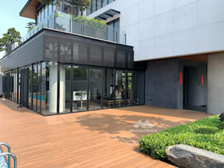 新綠境實業有限公司 Terrace Wood-Plastic Composite Wood effect
