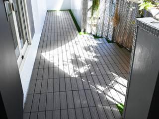 新綠境實業有限公司 Balcony Wood-Plastic Composite Wood effect
