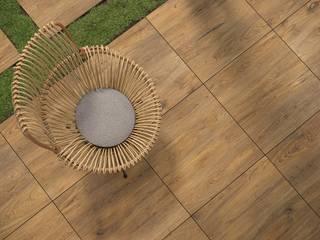 Domni.pl - Portal & Sklep Modern balcony, veranda & terrace Ceramic Brown