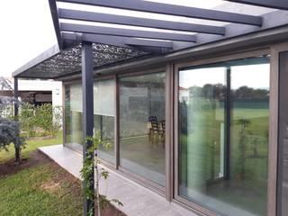 Dario Basaldella Arquitectura JardinAbris de jardin & serres Métal Gris