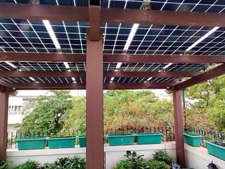 HomeScape by Amplus Solar Террасы на крыше ДПК Эффект древесины