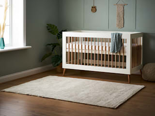 Obaby Maya Range Bambini and Bo Nursery/kid's roomBeds & cribs White
