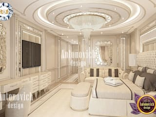 AMAZING BEDROOM INTERIOR DESIGN BY LUXURY ANTONOVICH DESIGN Luxury Antonovich Design Classic style bedroom