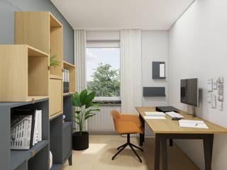 Innenarchitektur Federleicht Scandinavian style study/office Wood Grey