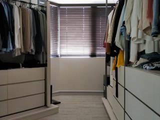 刪繁就簡,質韻人文現代宅 實木百葉簾 MSBT 幔室布緹 Industrial style dressing room Black