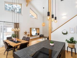 Vitalhaus Wildmoos Regnauer Hausbau Rustikale Esszimmer