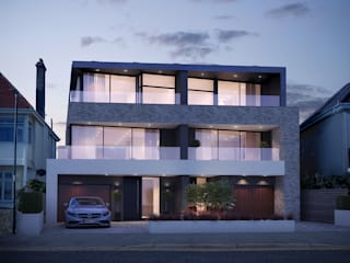 Southbourne, Bournemouth, Dorset David James Architects & Partners Ltd Maison individuelle