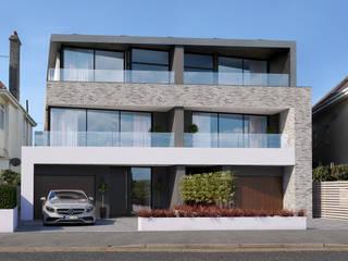 Southbourne, Bournemouth, Dorset David James Architects & Partners Ltd Maisons modernes