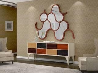 Intense mobiliário e interiores Corridor, hallway & stairsDrawers & shelves